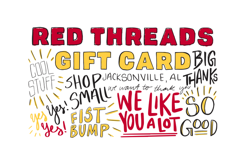Red Threads Apparel Gift Card