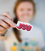 JSU™ Repeated Design Sticker