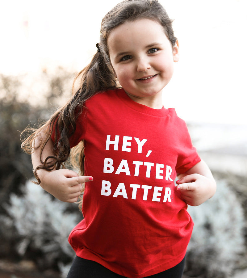 Youth Hey Batter Batter Solid Tee