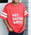 Youth Hey Batter Batter Jersey Tee