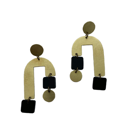 Cabrillo Earrings - Black