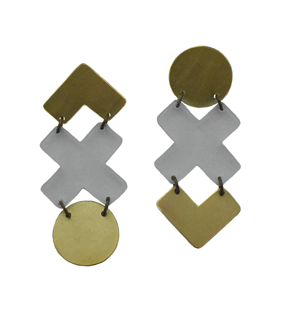 Cliff Earrings - Transparent