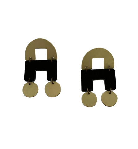 DeYoung Earrings - black