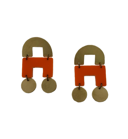 DeYoung Earrings - orange