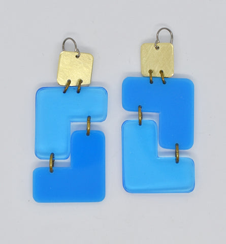 Millerton Earrings - Blues