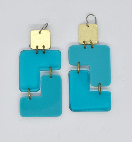 Millerton Earrings - Turquoises
