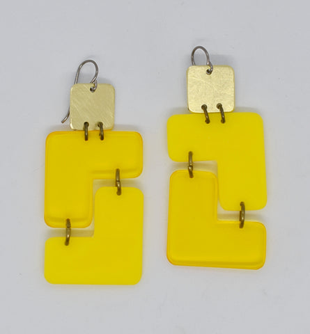 Millerton Earrings - Yellows