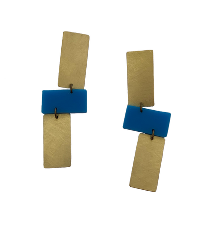 Moraga Earrings - Blue