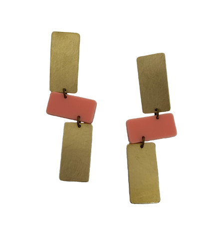 Moraga Earrings - Pink