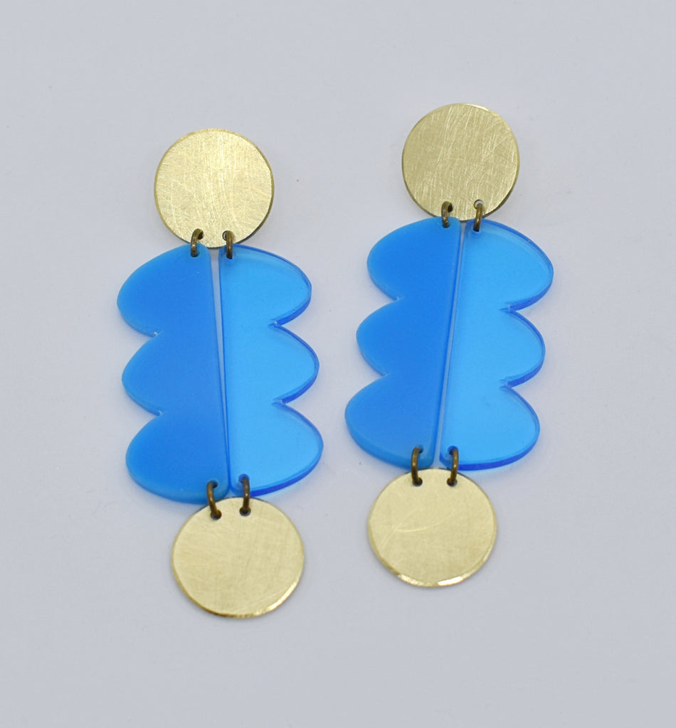 Nopa Earrings - Blues