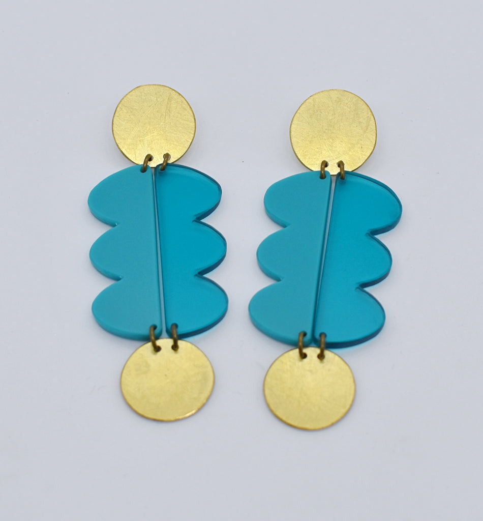 Nopa Earrings - Turquoises