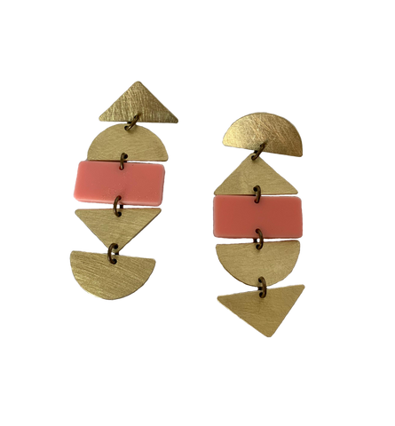 Ortega Earrings - Pink