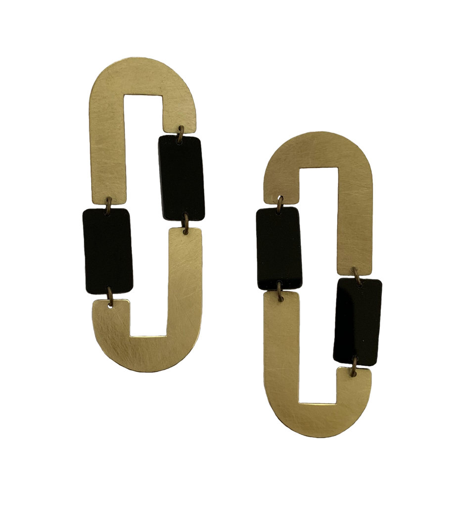 Pacheco Earrings - Black
