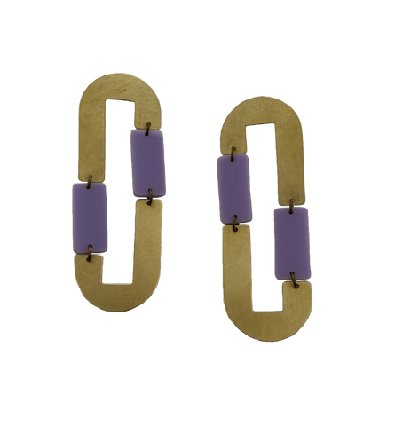 Pacheco Earrings - Lilac