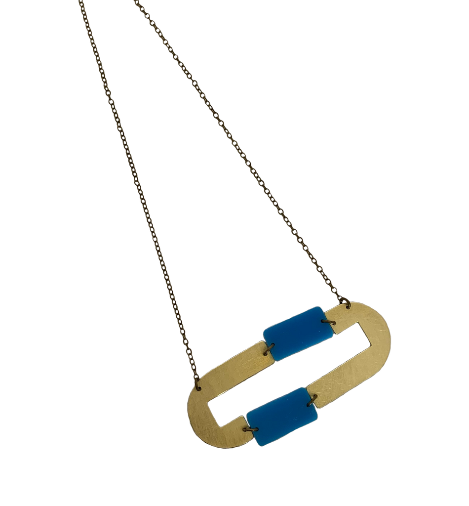 Pacheco Necklace - Blue