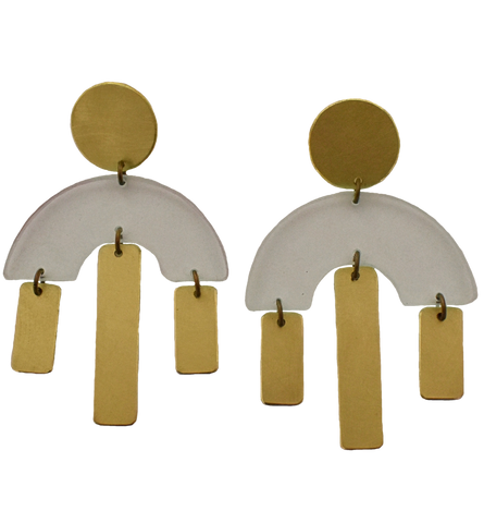 Pacific Earrings - Transparent