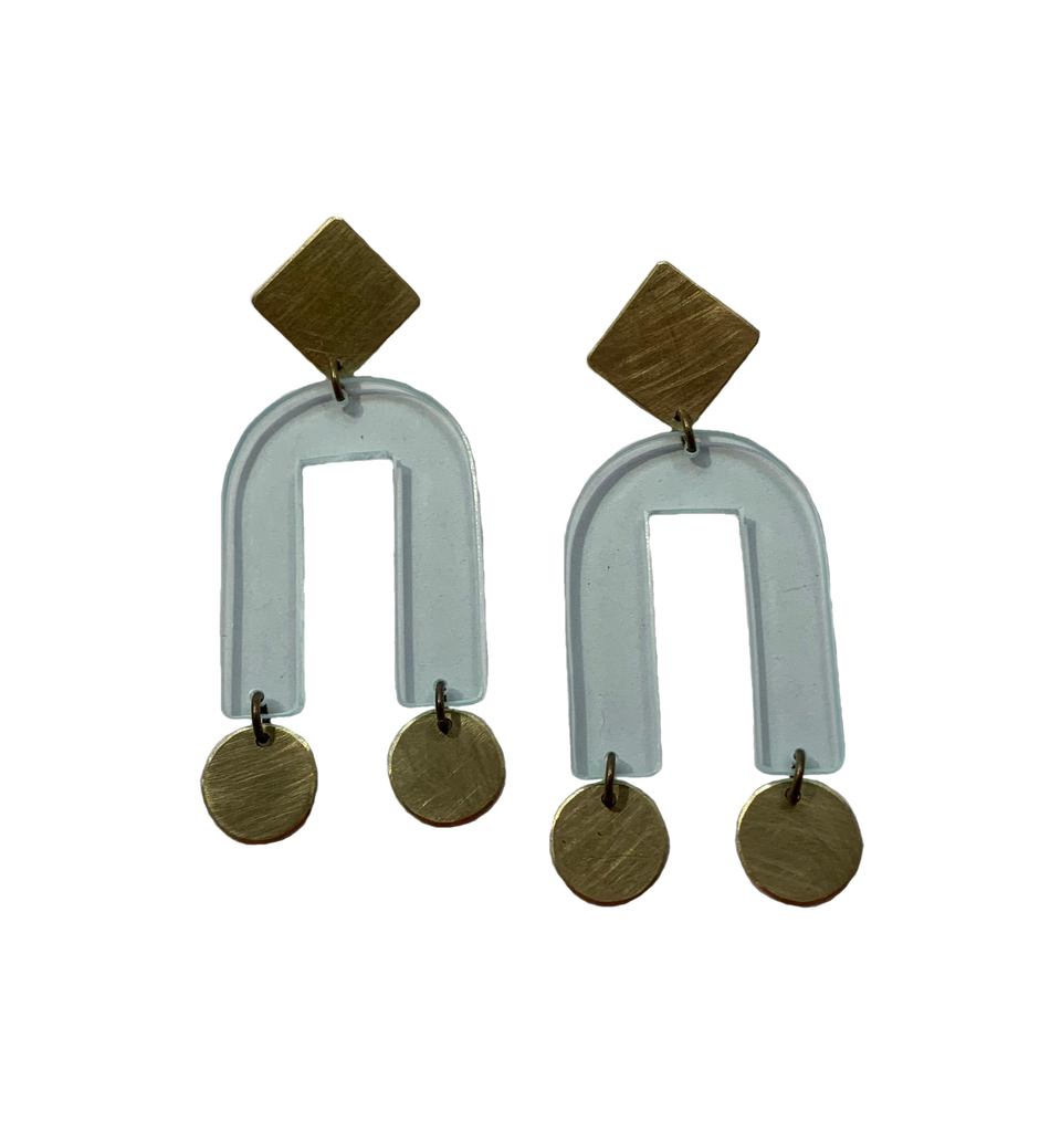Presidio Earrings - Transparent