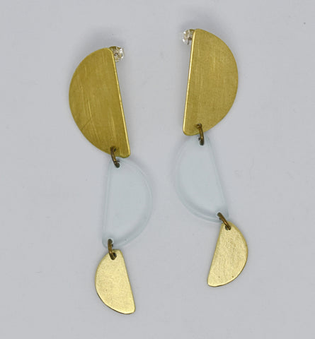 Reyes Earrings - Transparent