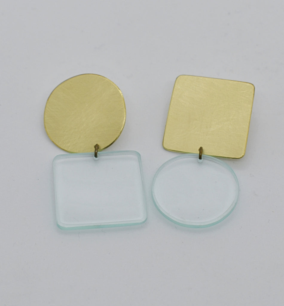 Sausalito Earrings - Transparent