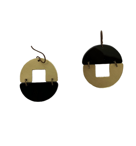 Stern Grove Earrings - black