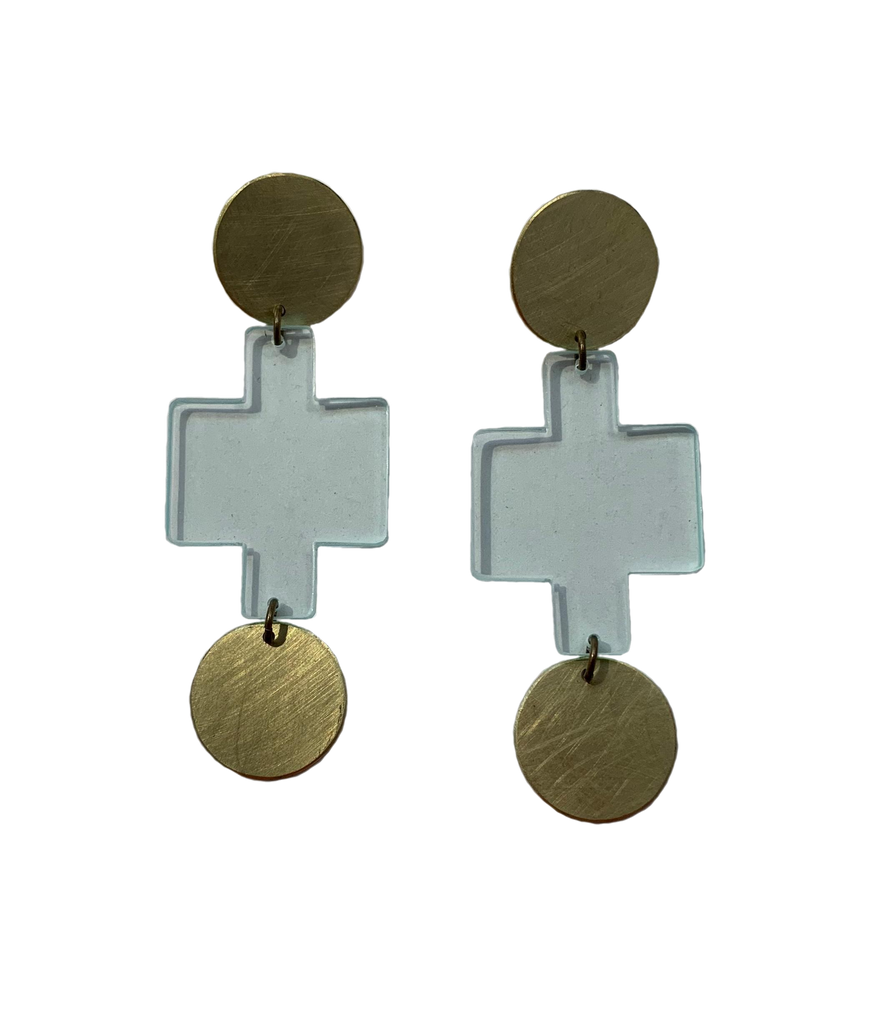 Sutro Earrings - Transparent