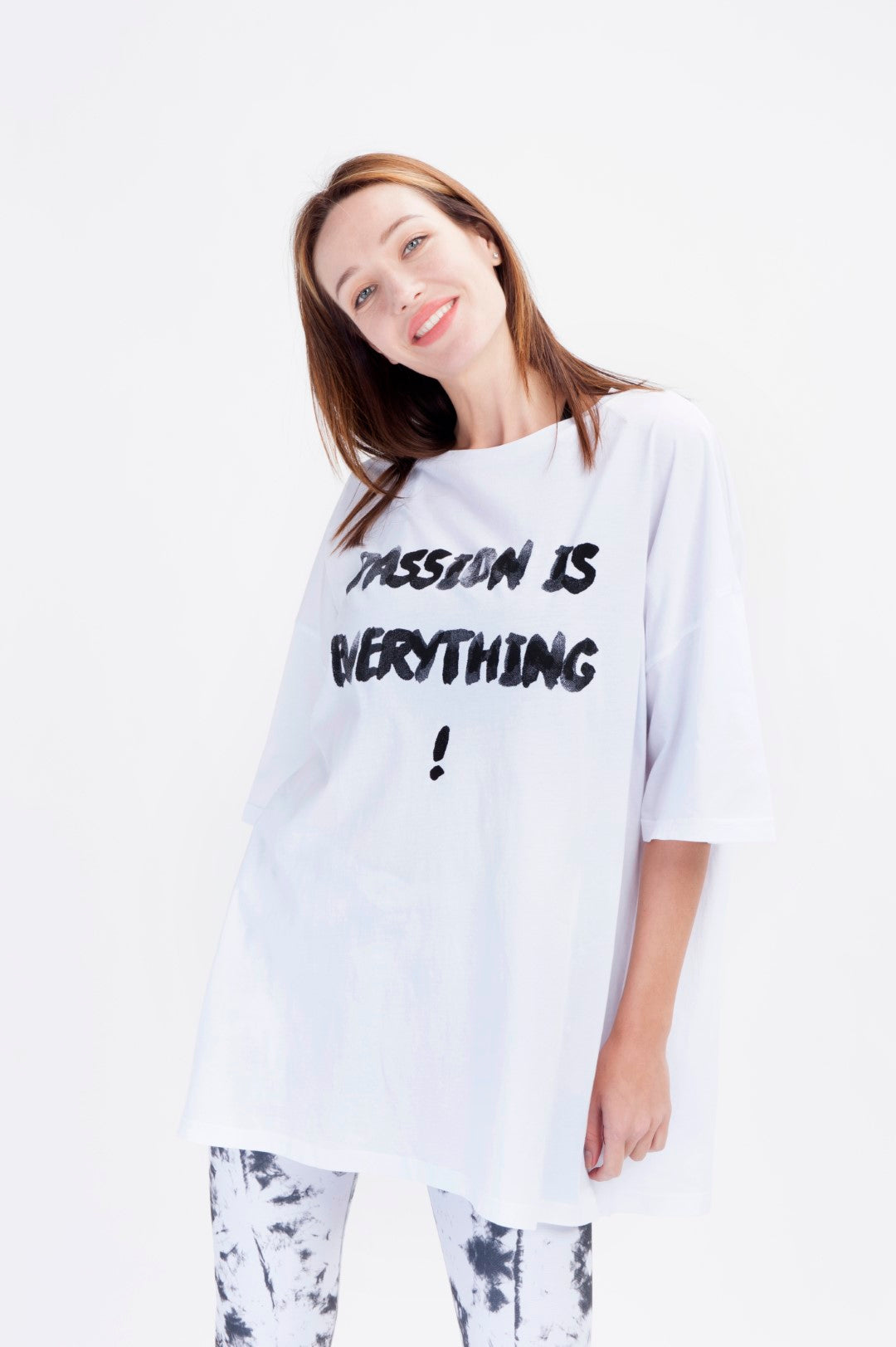 Passion is Everything Oversized T-shirt