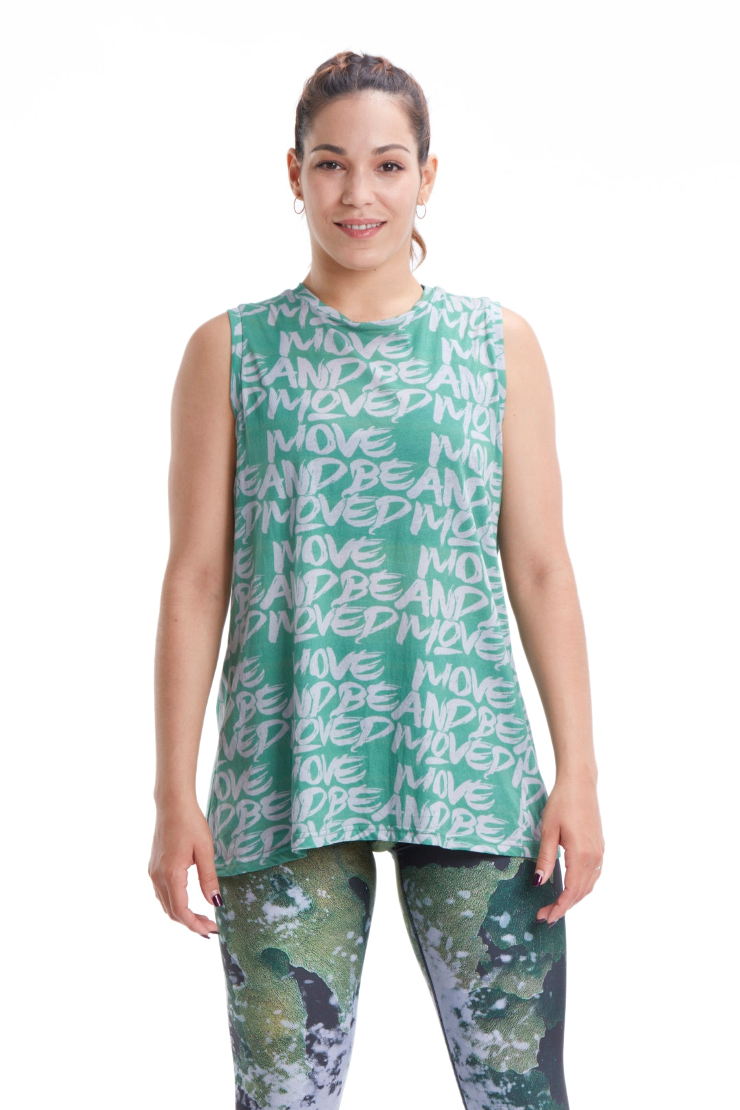 Move and Be Moved Cut Out Tank