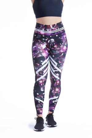 Be Strong Leggings - Purple