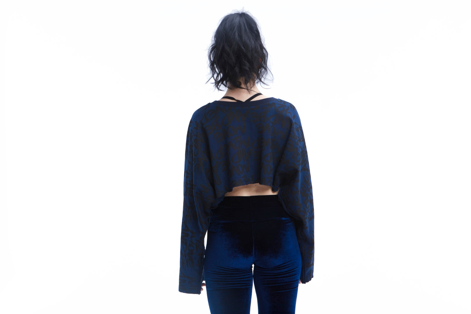 Move and Be Moved Cropped Sweatshirt