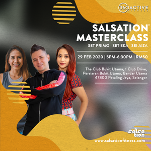 Salsation® Masterclass by SET Primo of Poland (29 February 5pm-6.30pm)
