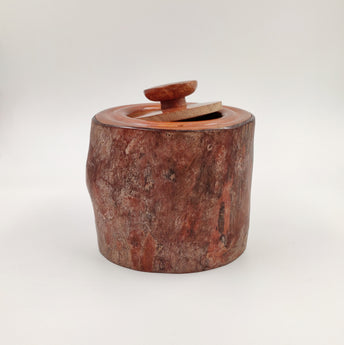 Wooden Bark Container