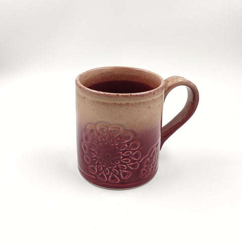 Ceramic Studio Pottery Glazed Coffee Mugs (Set of 2)