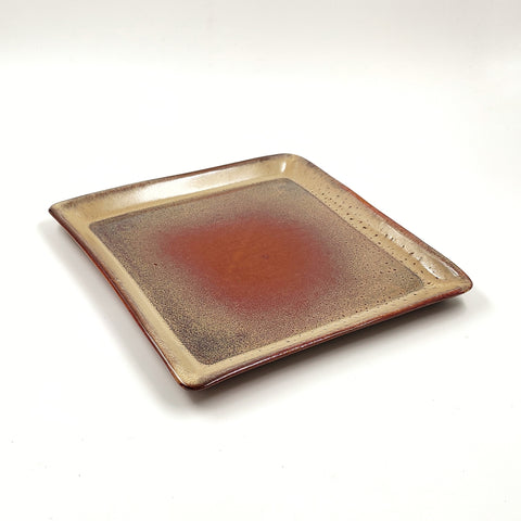 Studio Pottery Square Platter