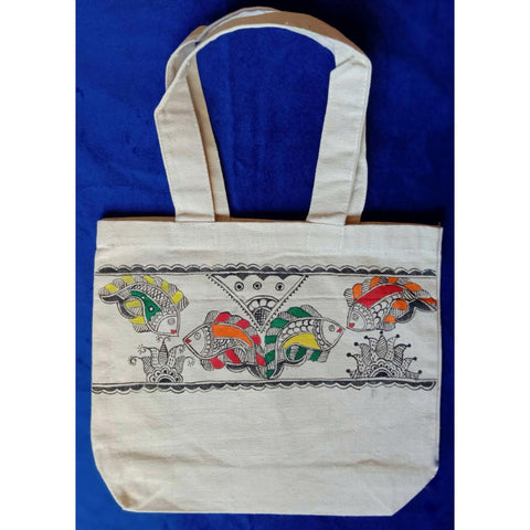 Madhubani Canvas Bag