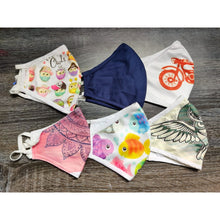 Adult Printed Cotton Masks (Set of 6)
