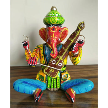 Ganesha with Musical Instrument