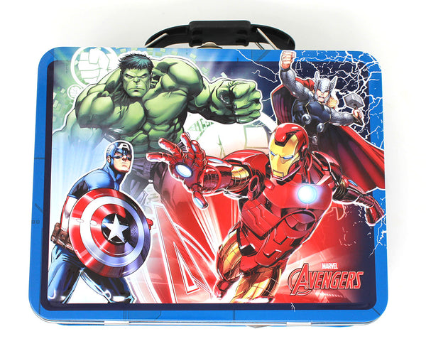 AVENGERS PREPARE FOR BATTLE Lunchbox Tin