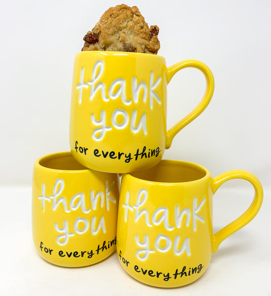 """THANK YOU FOR EVERYTHING"" MUG"