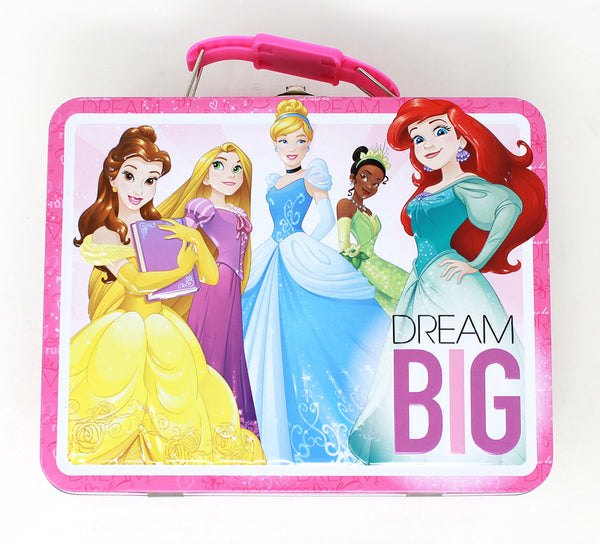 "DISNEY PRINCESS ""DREAM BIG"" LUNCHBOX TIN"