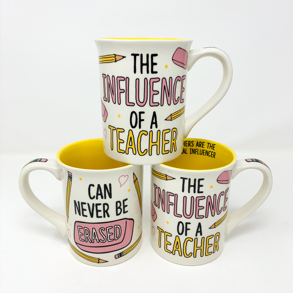 TEACHER INFLUENCE MUG