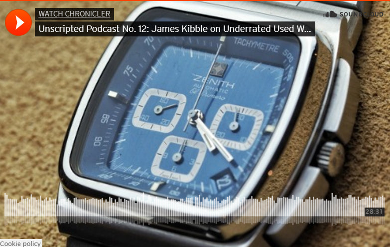 Unscripted Podcast - WatchChronicler discussing Underrated Used Watches, Rolex Trends and More!