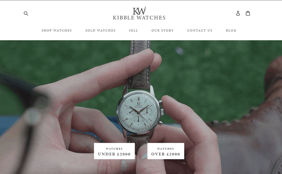 New Website – New Year – Same KibbleWatches!
