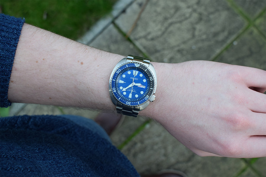 "Unboxing & First Impressions - Seiko ""Save The Ocean"" Special Edition Turtle SRPD21K1"