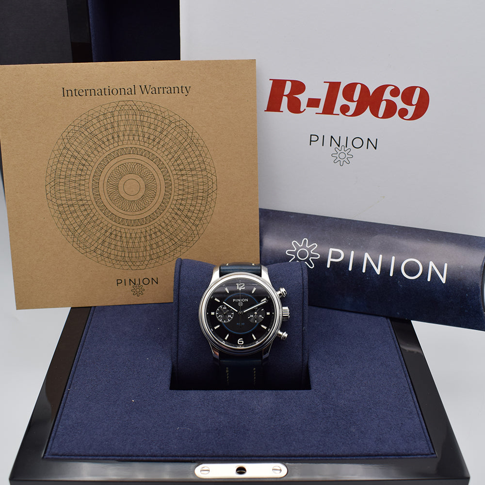 Pinion 1969 Revival Custom No Date Dial