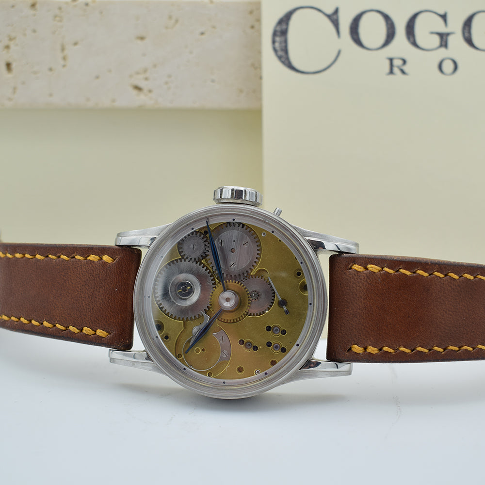 Coggiola Custom Watch 1870s Movement