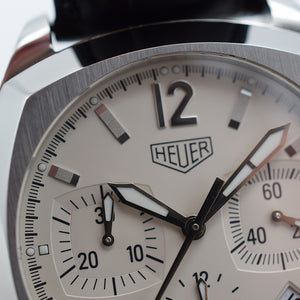 2003 TAG Heuer Monza Re-Edition White CR2111