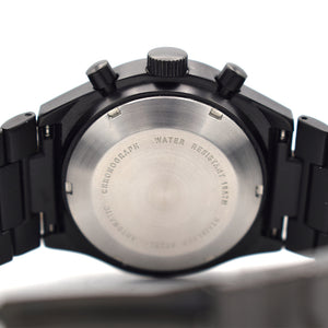Lorsa Black PVD Automatic Chronograph