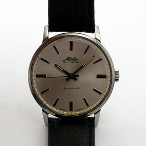 1960s Mido Multifort Powerwind Automatic