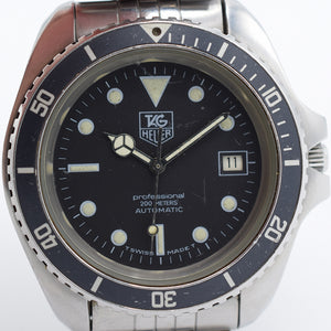1980s TAG Heuer 844/5 Diver Auto
