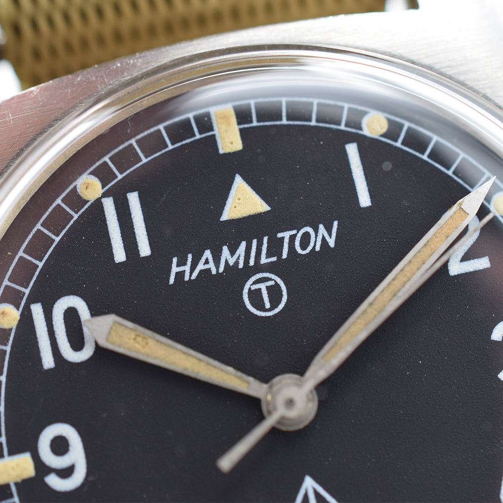 1973 Hamilton W10 Military Issued Watch